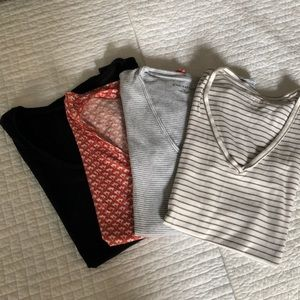Bundle of 4- Ann Taylor Short Sleeve T Shirts